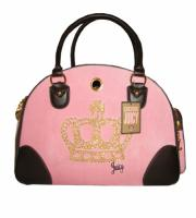 "Сумка ""Juicy Couture Crown "" розовая"